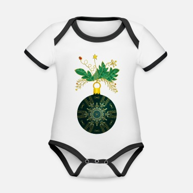 Decoration Christmas decoration - Organic Baby Contrasting Bodysuit