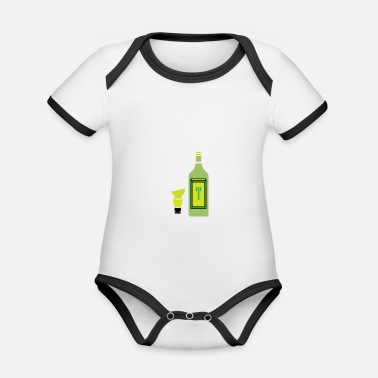 Wedding Party Bachelor party | Party celebration wedding - Organic Baby Contrasting Bodysuit