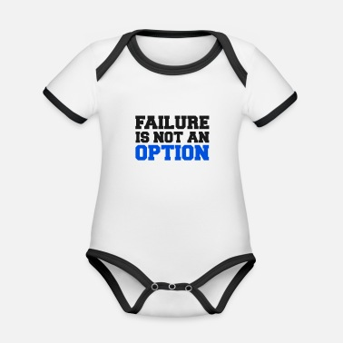 Failure Failure Failure Success Career Company Job - Organic Contrast Baby Bodysuit