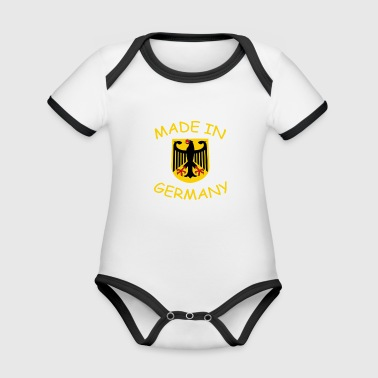 Made In Germany MADE IN GERMANY - Baby Bio-Kurzarm-Kontrastbody