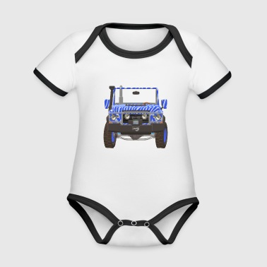 jeep - Organic Baby Contrasting Bodysuit