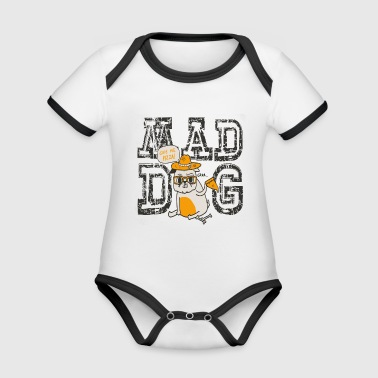Mad Dog Pizza - Organic Baby Contrasting Bodysuit
