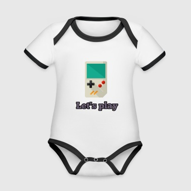 Console game console - Organic Baby Contrasting Bodysuit