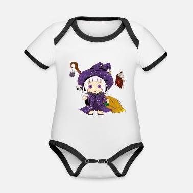 Bruja bruja - Body con contraste bebé 5d61efd36ca