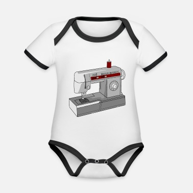 Sewing Machine sewing machine - Organic Contrast Baby Bodysuit