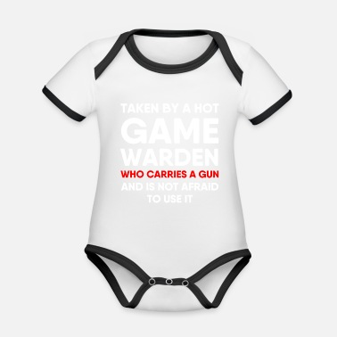 Game Warden Game Warden Girlfriend Boyfriend Wife Husband - Organic Contrast Baby Bodysuit
