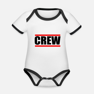 Pression Du Groupe Crew Group Party Celebrate Tour Teamshirts - Body Bébé bio contrasté