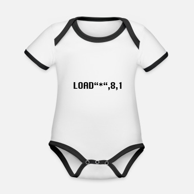 Command - Organic Contrast Baby Bodysuit