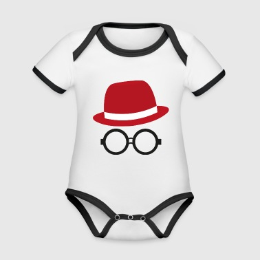 Hipster hipster - Organic Baby Contrasting Bodysuit