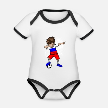 National Team RUSSIA football national team - Organic Baby Contrasting Bodysuit