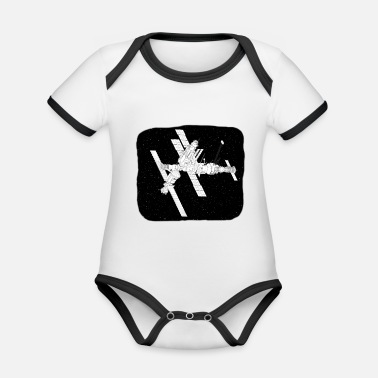 ISS - Organic Contrast Baby Bodysuit