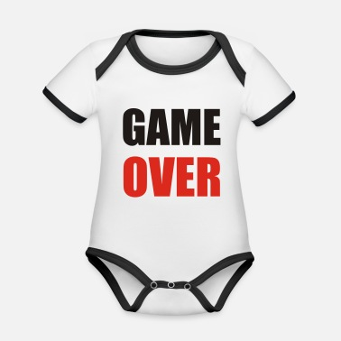 Game Over game over - Body neonato bicolor