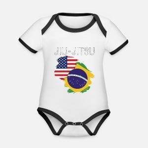 6badc5fda4 Jiu-jitsu  USA-Brazil Camiseta niño