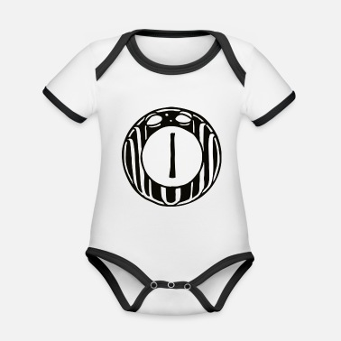 One ONE - 1 - ONE - Organic Contrast Baby Bodysuit