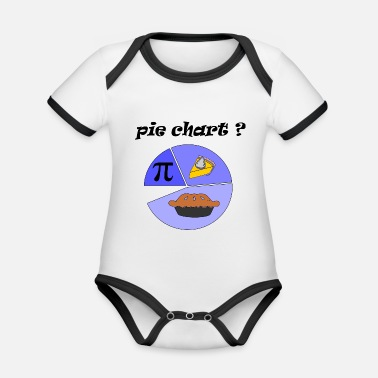 Charts pie chart - Organic Contrast Baby Bodysuit