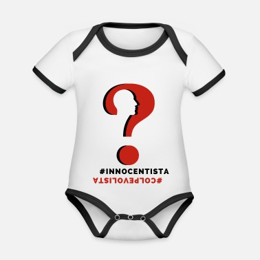 What do you think - Organic Contrast Baby Bodysuit