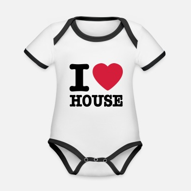 House i love house / I heart house - Kontrast babybody
