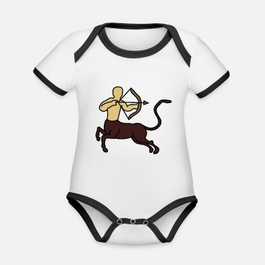 Steppenreiter archery arrow bow crossbow target sports45 - Organic Contrast Baby Bodysuit