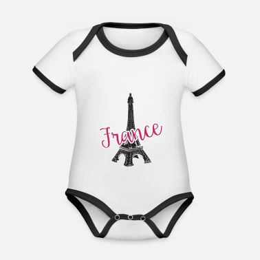 d7aa7c9fd Francia Francia - Francia - Body con contraste bebé