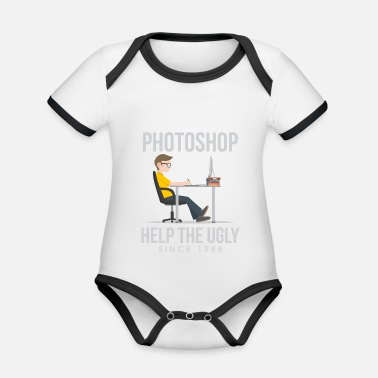 Photoshop Photoshop helps! - Organic Contrast Baby Bodysuit
