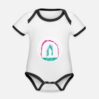 Illustration Illustration - Baby Bio-Kurzarm-Kontrastbody
