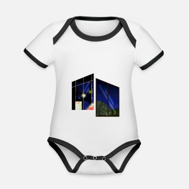 Windows Contrast window - Organic Contrast Baby Bodysuit