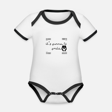 Sunna to smile - Organic Contrast Baby Bodysuit