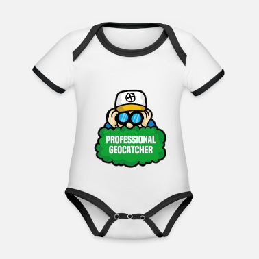 Geoaching GEOCACHING PROFESSIONALE GEOCACHING - Body neonato bicolor