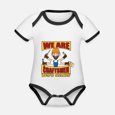 Technology Craftsmen, fast and reliable - Organic Contrast Baby Bodysuit