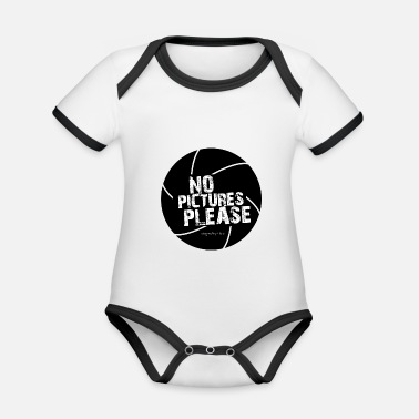 Picture No pictures please - Designed by Hardi - Organic Contrast Baby Bodysuit