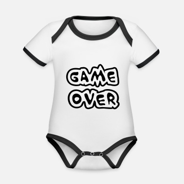 Game Over Game Over - Body Bébé bio contrasté