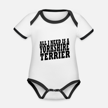 Terrierin DOG SHIRT - Vauvan kontrastivärinen body