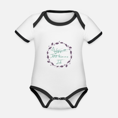 Watch Out Watch out - Organic Contrast Baby Bodysuit