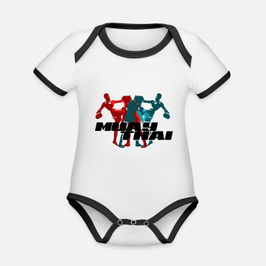 Sports Muay Thai - Body neonato bicolor