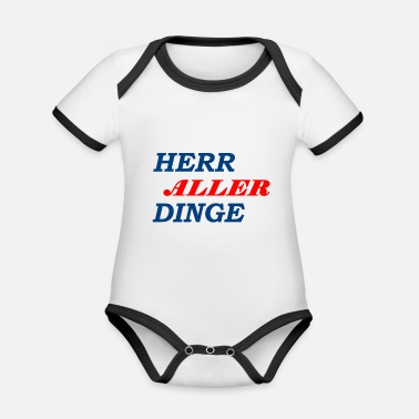 Lord of all things - Organic Contrast Baby Bodysuit