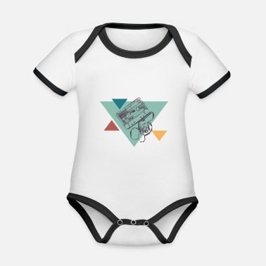 Tape Tape - Organic Baby Contrasting Bodysuit
