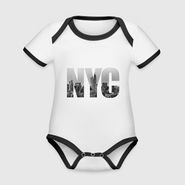 Nyc NYC - Organic Baby Contrasting Bodysuit