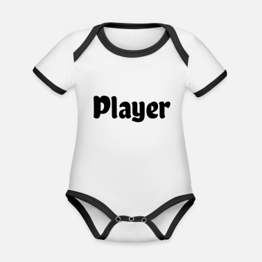 Player Player - Organic Contrast Baby Bodysuit