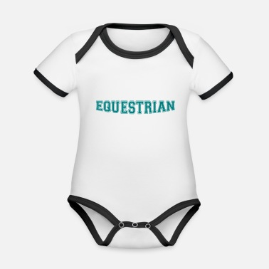 Writing Equestrian Writing - Body Bébé bio contrasté