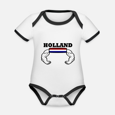 Nederland Holland - Rompertje tweekleurig