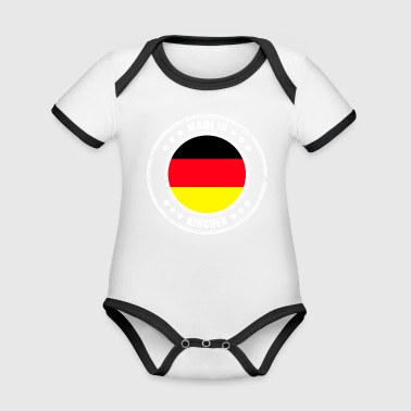 CHURCHES - Organic Baby Contrasting Bodysuit
