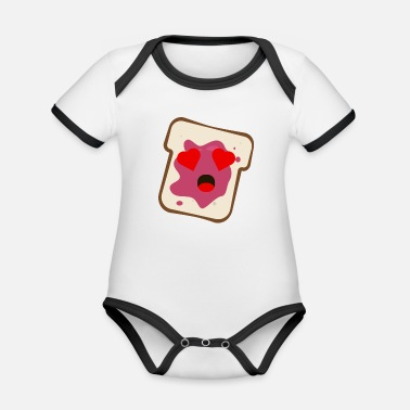 Jelly Jelly - Organic Baby Contrasting Bodysuit