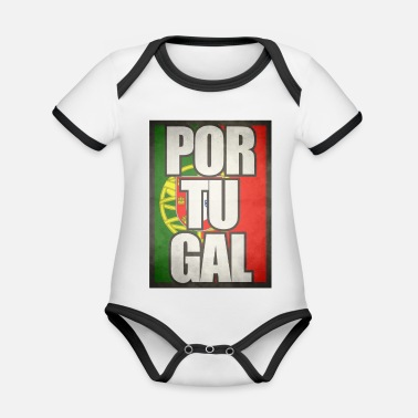Portugal Portugal - Organic Baby Contrasting Bodysuit