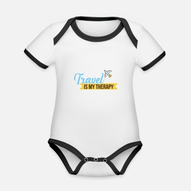 Treatment Travel treatment - Organic Contrast Baby Bodysuit