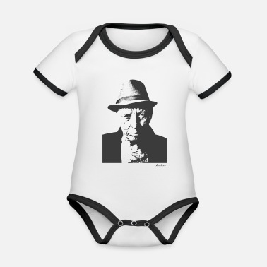 Old Man OLD MAN - Organic Contrast Baby Bodysuit