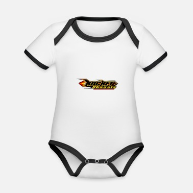 Missile Missile chassis - Organic Contrast Baby Bodysuit