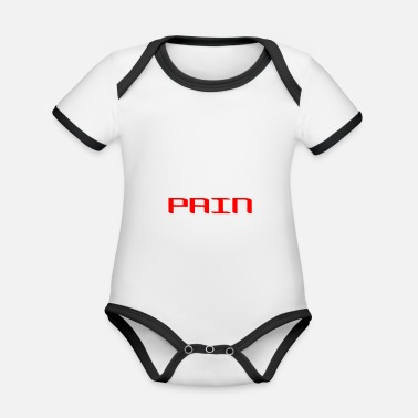Pain Pain - Organic Baby Contrasting Bodysuit