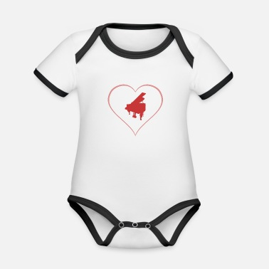 Wing wing - Organic Contrast Baby Bodysuit