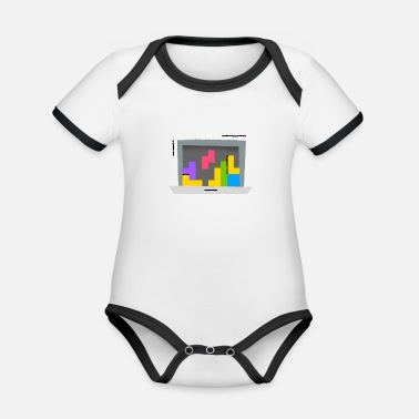 Comic Mirage - Page under construction - Organic Contrast Baby Bodysuit