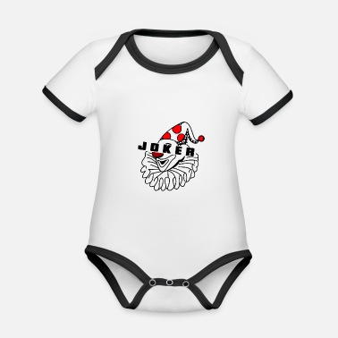 Joke Joker Joker Cinema Joker Clown - Økologisk kontrast babybody